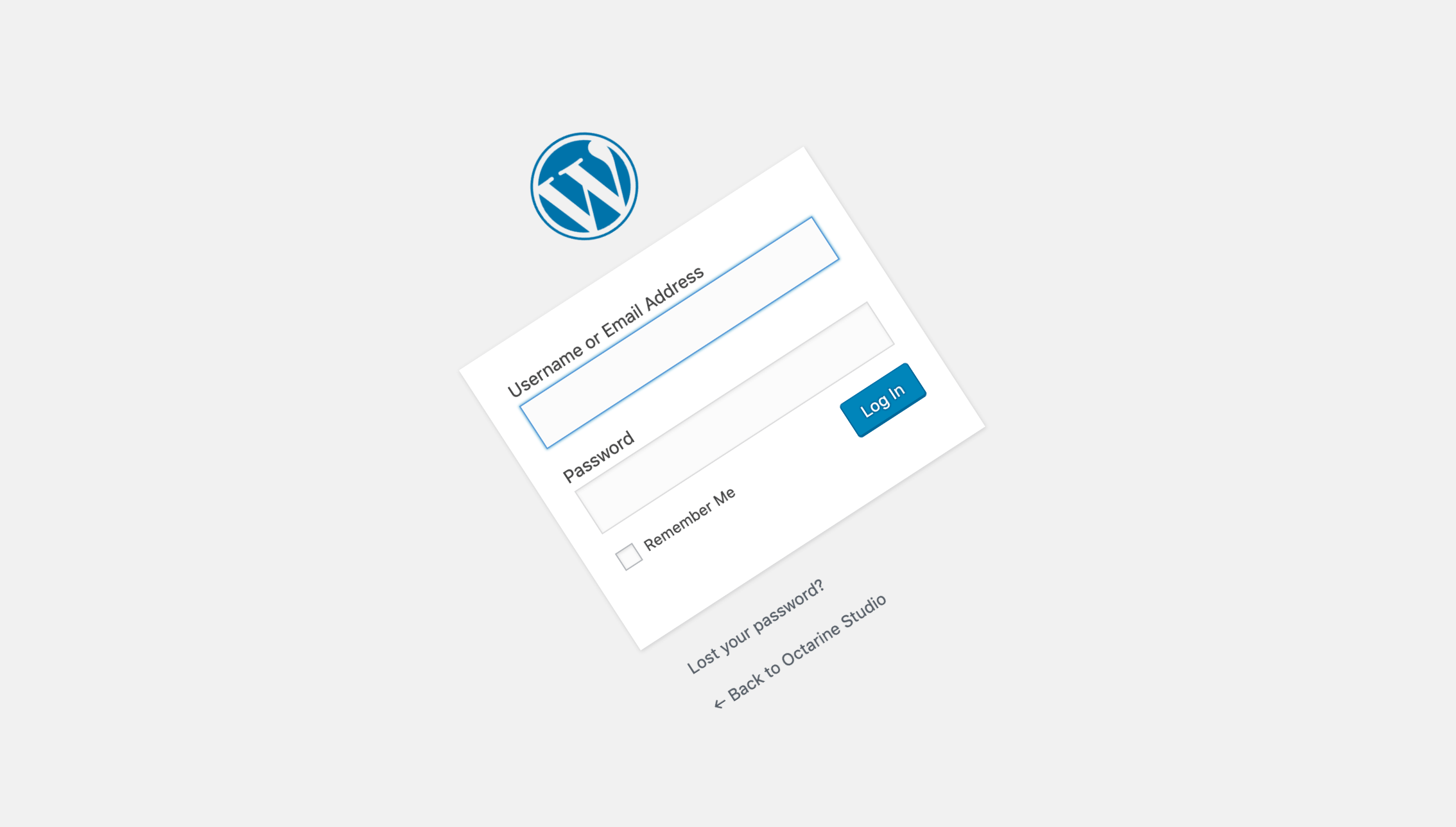Admin only, a WordPress Theme for Developers
